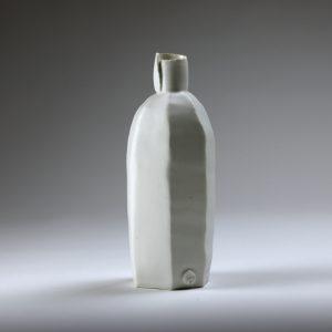 FAURE Eric - Bouteille en porcelaine