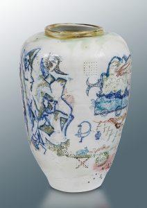 BASILE Thierry - Demoiselle Avignon - Vase