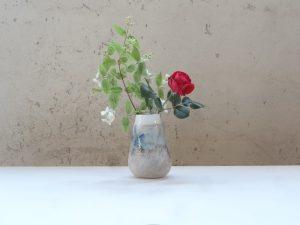 JURQUET Pauline - Vase en grès et porcelaine