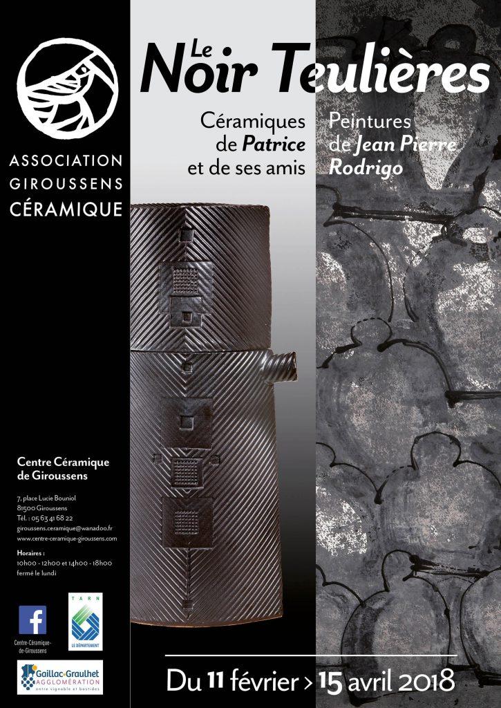 Affiche : Le Noir Teulières