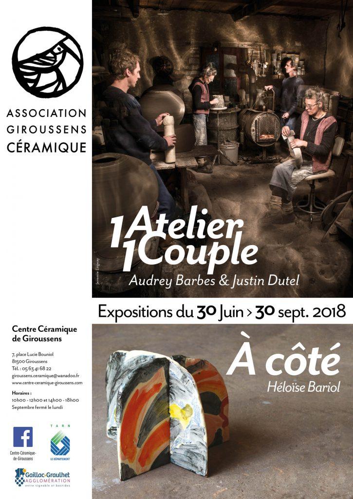 Affiche : 1 Atelier 1 Couple