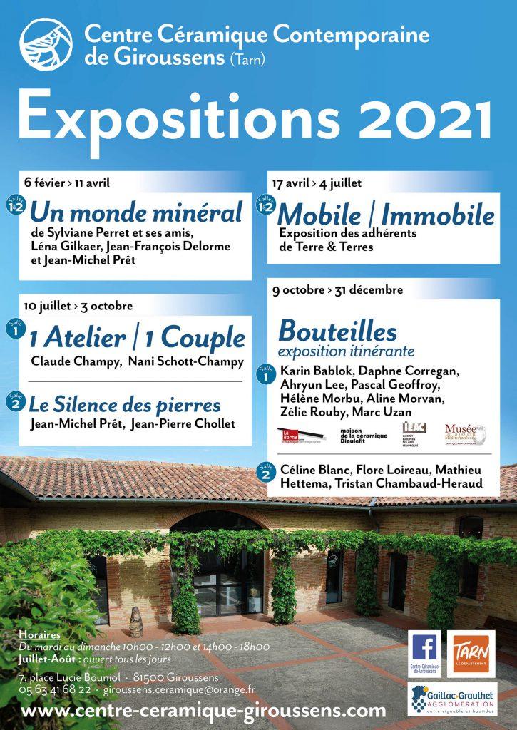 Affiche CCCG : expositions 2021