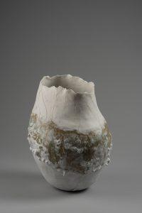 LOIREAU Flore - Vase dentelle