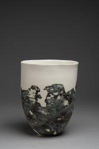 LOIREAU Flore - Vase lichen